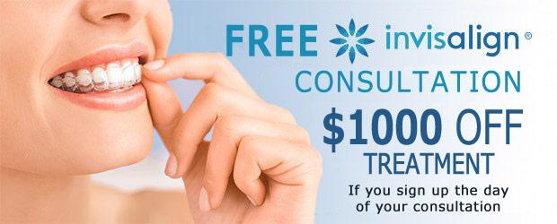 Invisalign Free Consultation & Discount